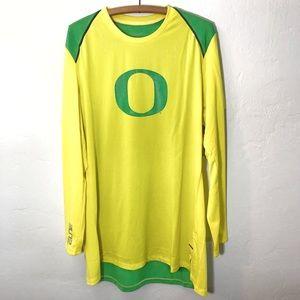 Nike Elite Oregon Ducks Long Sleeve Top NEW
